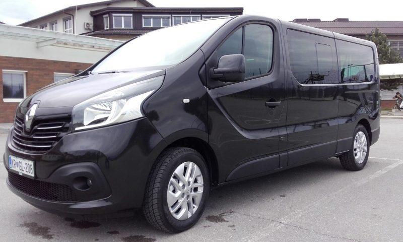 Transfers with vans, rent a van