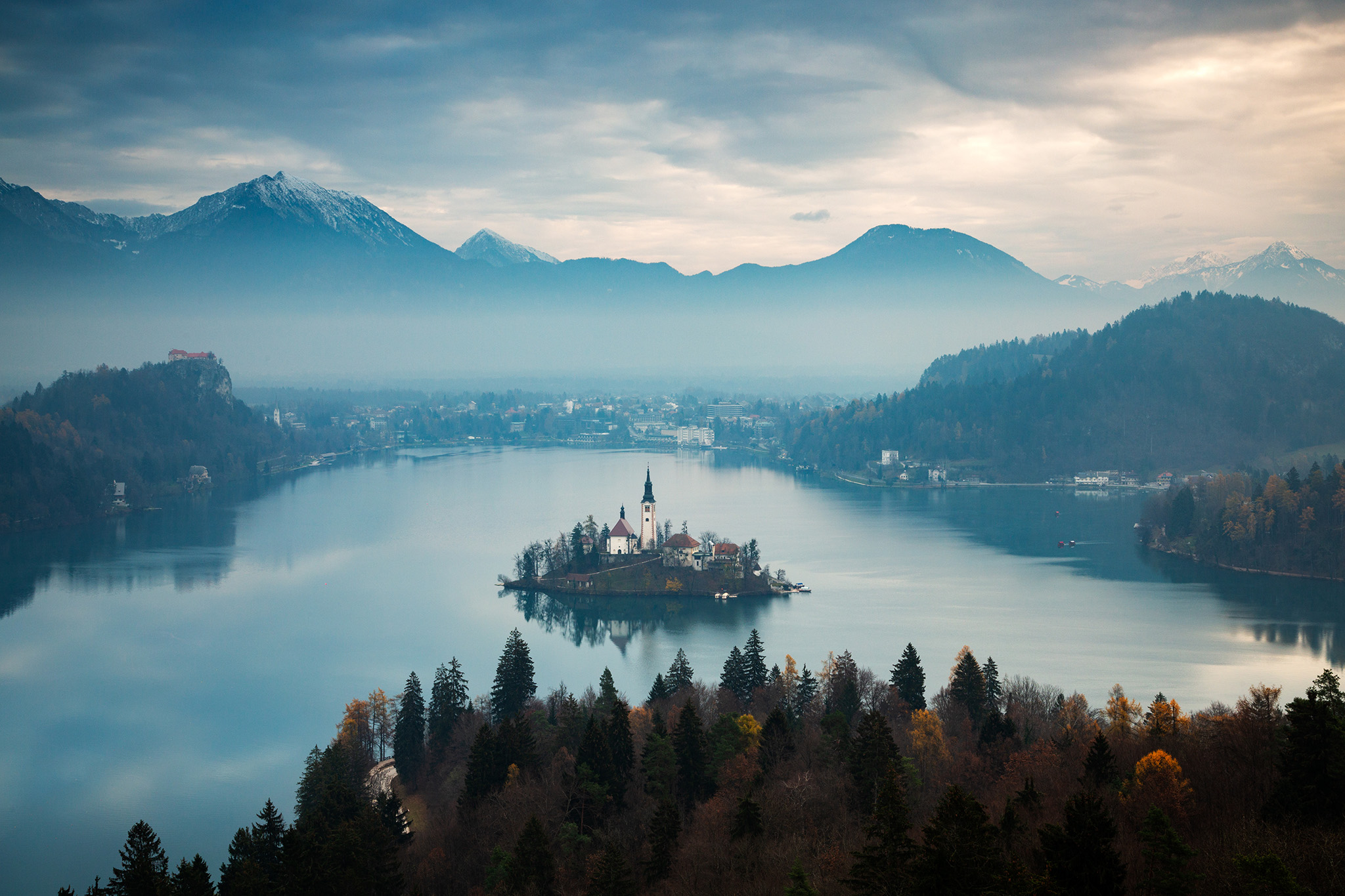 Lake Bled from Ojstrica