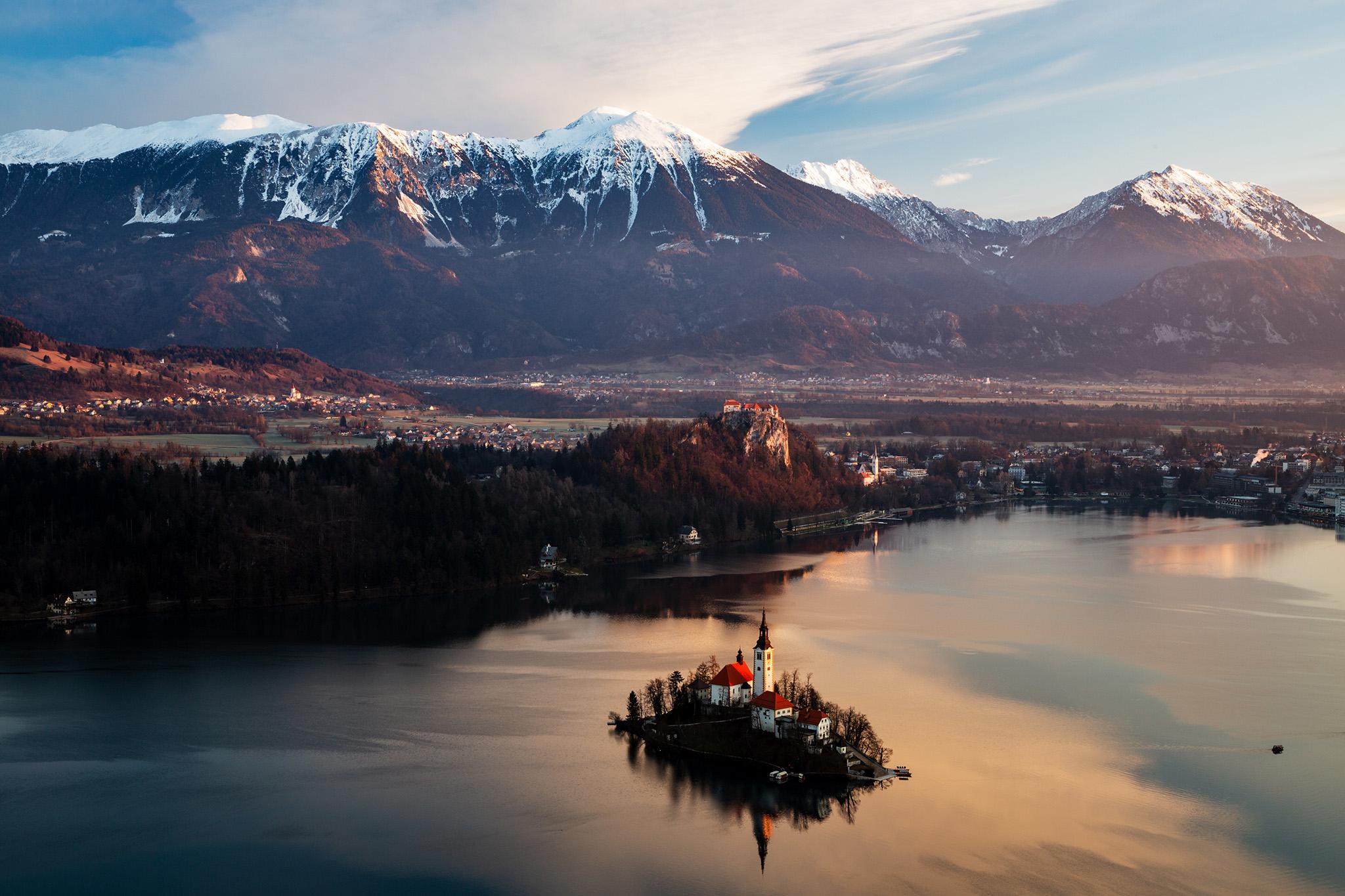Lake Bled from Mala Osojnica