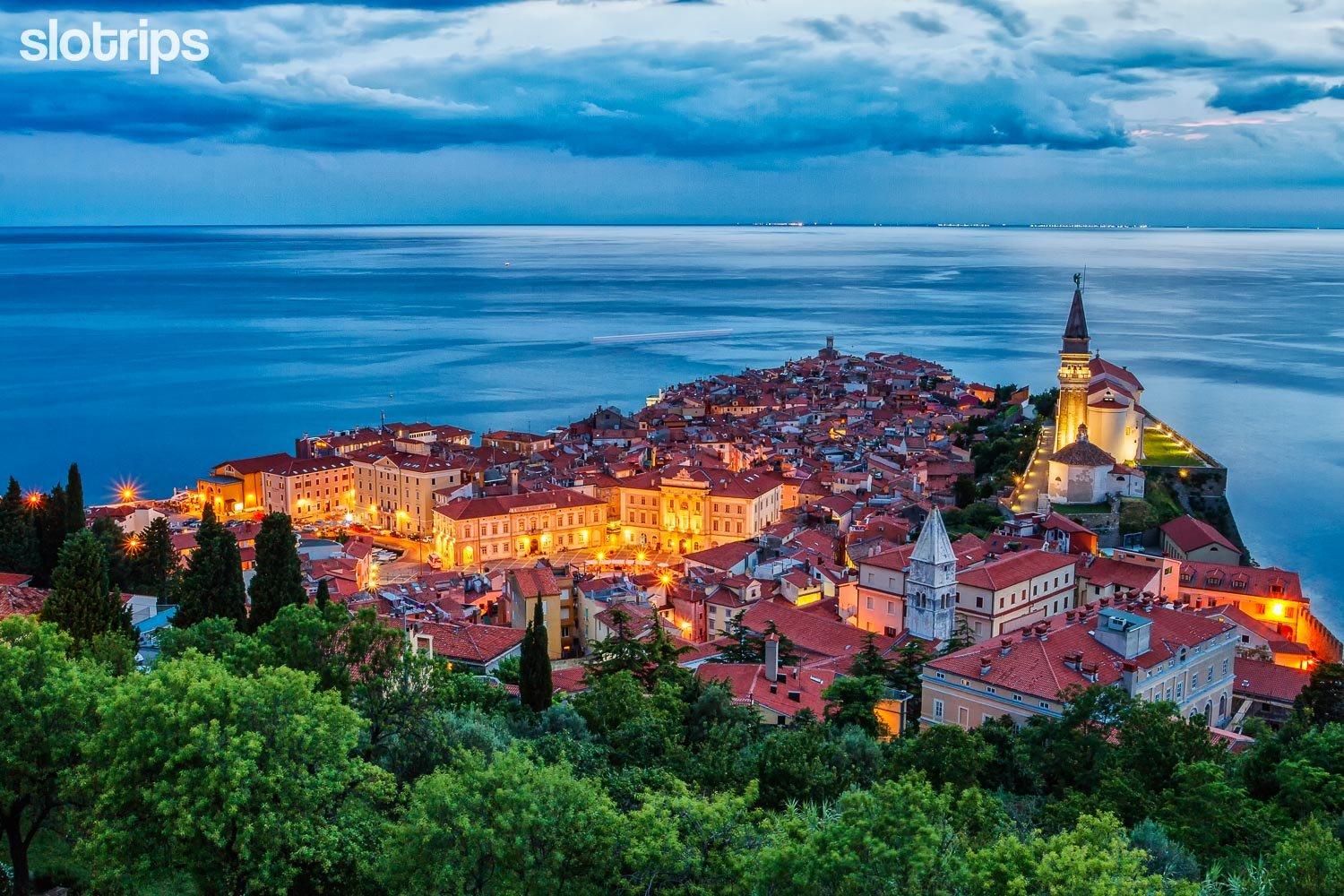 Piran on the Adriatic Coast