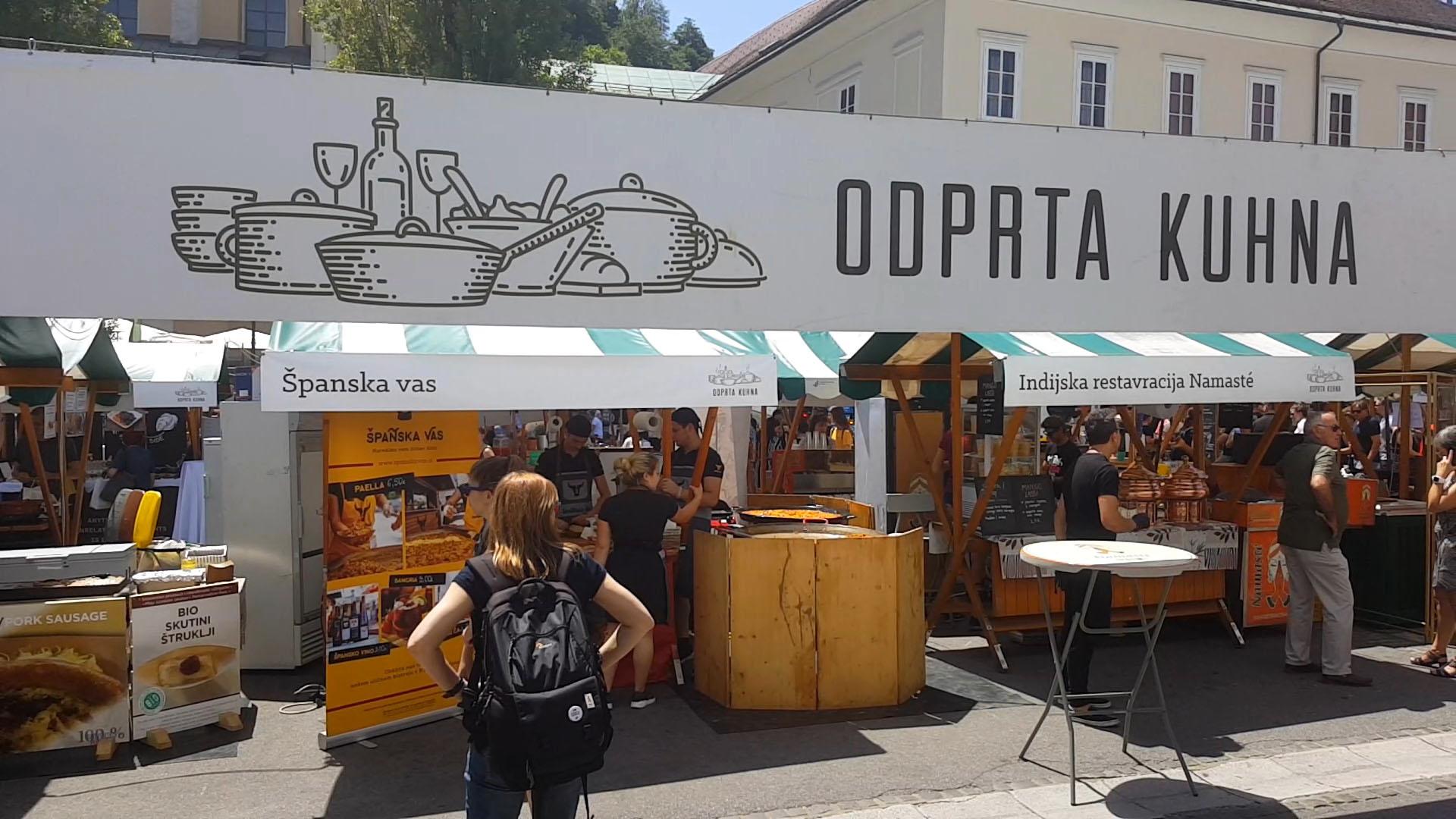 Ljubljana Open Kitchen, Slovenia.