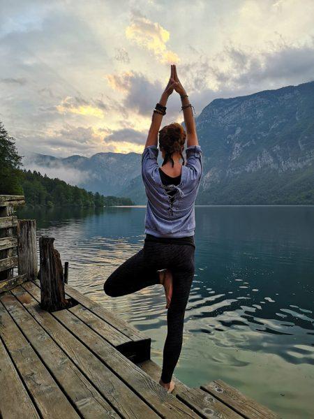 Yoga for Everybody at Lake Bohinj